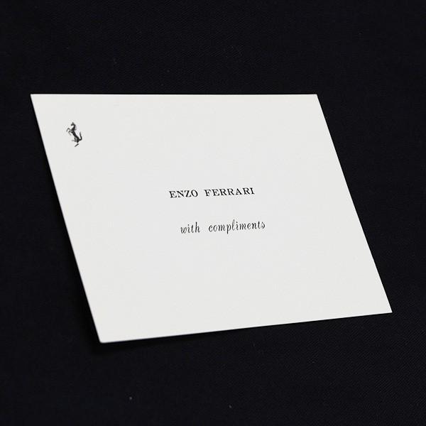 フェラーリ ENZO FERRARI with complimentsカード|itazatsu|02