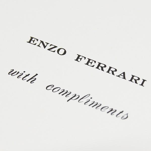 フェラーリ ENZO FERRARI with complimentsカード|itazatsu|04