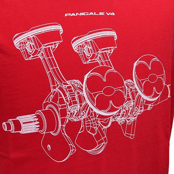 ドゥカティ純正 Tシャツ-V4 PANIGALE-|itazatsu|04
