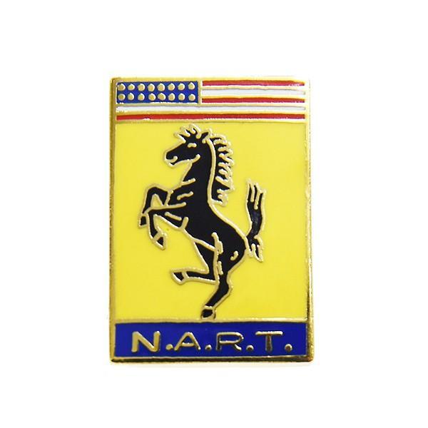 フェラーリ Ferrari N.A.R.T.ピンバッジ|itazatsu