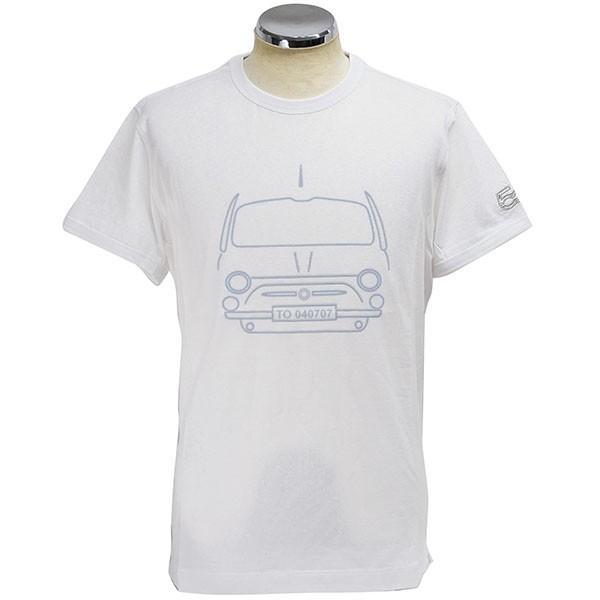 フィアット純正 500 Tシャツ by RITES|itazatsu