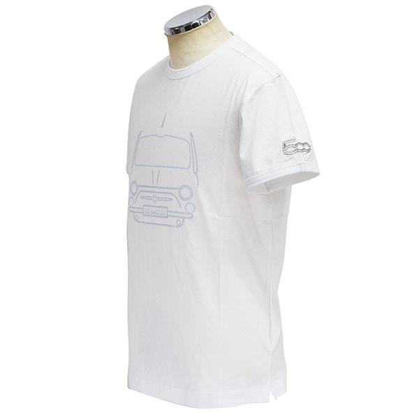 フィアット純正 500 Tシャツ by RITES|itazatsu|02
