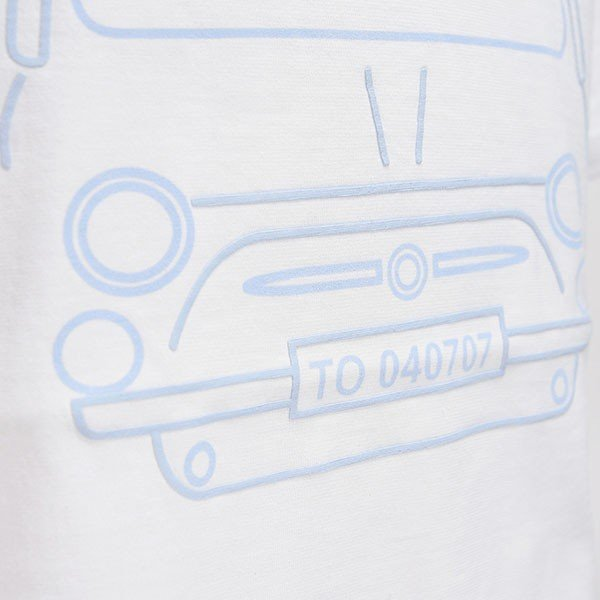 フィアット純正 500 Tシャツ by RITES|itazatsu|05