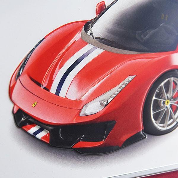 フェラーリ純正 488 Pista額装プレート/Ferrari 2019年度退職者記念用|itazatsu|04