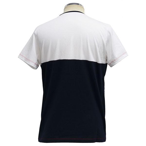 フィアット純正 バイカラーTシャツ itazatsu 02