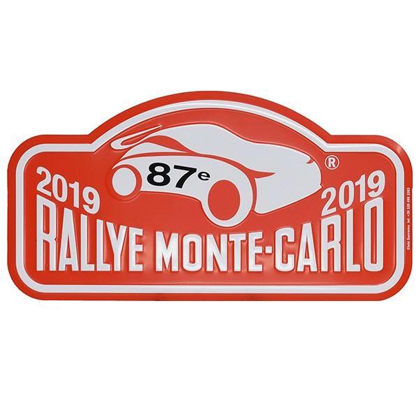 Rally Monte Carlo 2019 オフィシャルメタルプレート(Large)|itazatsu