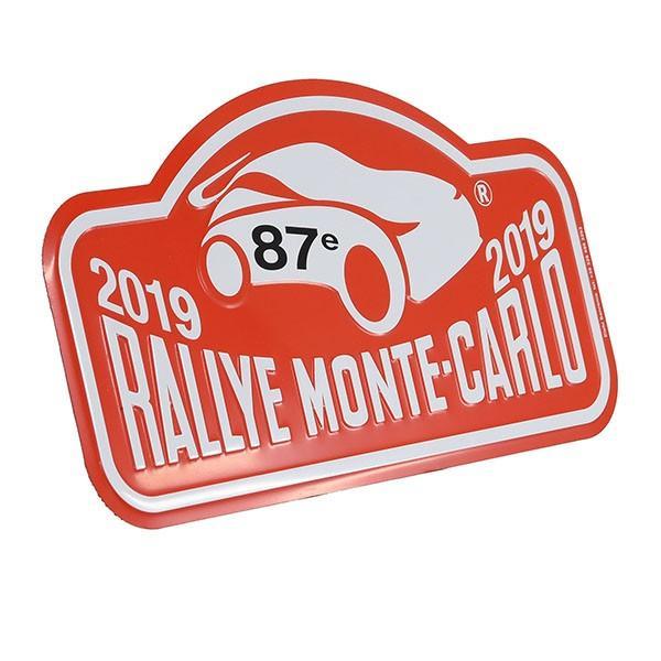 Rally Monte Carlo 2019 オフィシャルメタルプレート(Large)|itazatsu|02