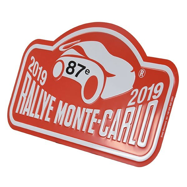Rally Monte Carlo 2019 オフィシャルメタルプレート(Large)|itazatsu|03