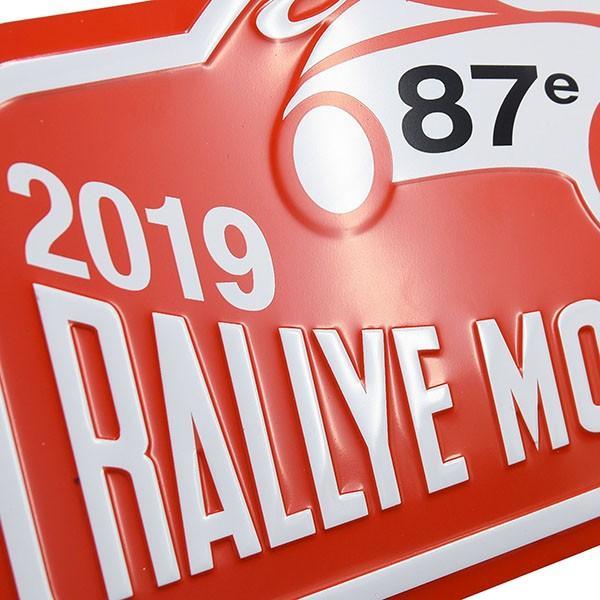 Rally Monte Carlo 2019 オフィシャルメタルプレート(Large)|itazatsu|04