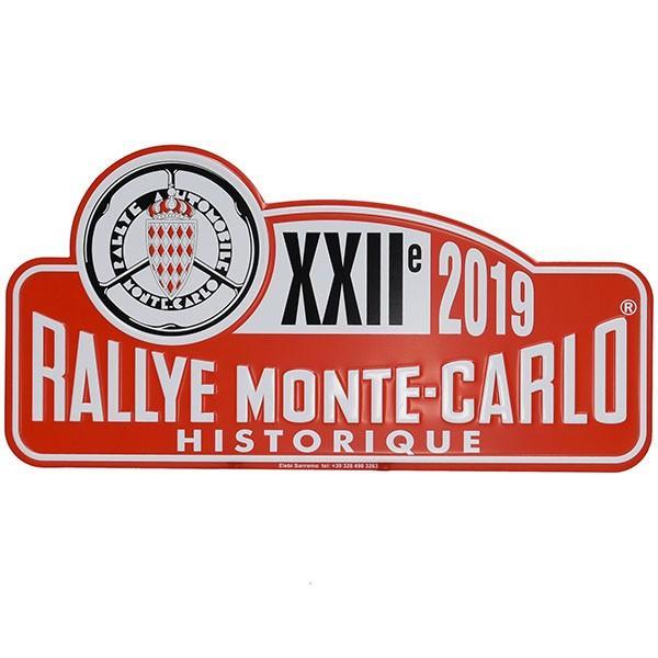 Rally Monte Carlo Historique 2019 オフィシャルメタルプレート(Large)|itazatsu