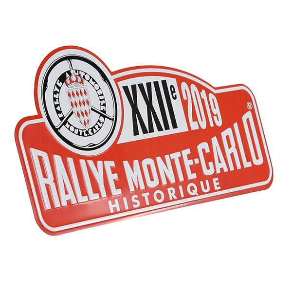 Rally Monte Carlo Historique 2019 オフィシャルメタルプレート(Large)|itazatsu|02
