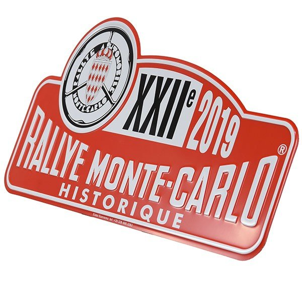 Rally Monte Carlo Historique 2019 オフィシャルメタルプレート(Large)|itazatsu|03