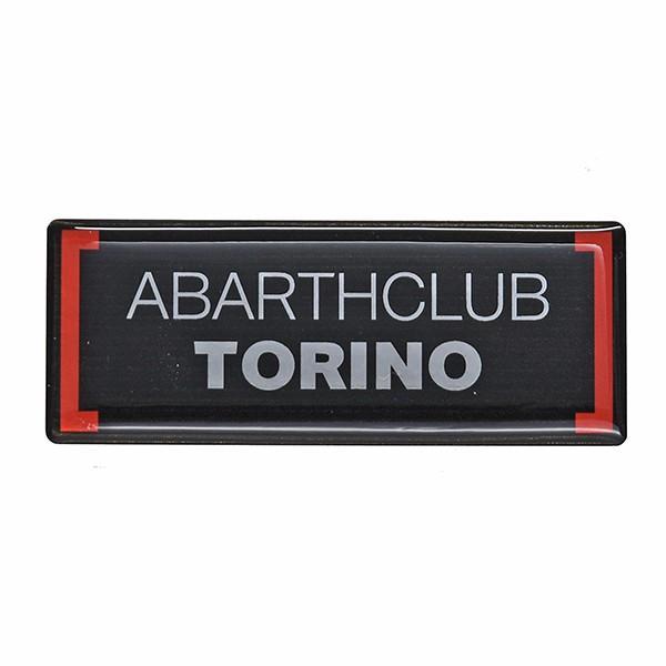 アバルト ABARTH CLUB TORINO 3Dステッカー itazatsu