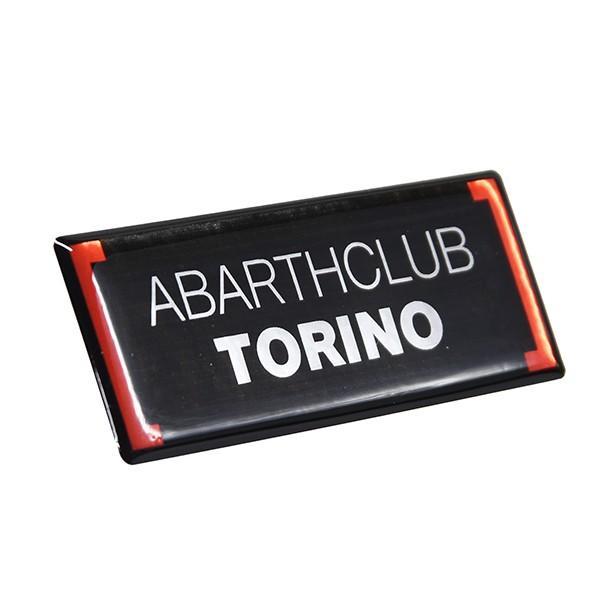 アバルト ABARTH CLUB TORINO 3Dステッカー itazatsu 02
