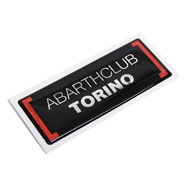 アバルト ABARTH CLUB TORINO 3Dステッカー itazatsu 04