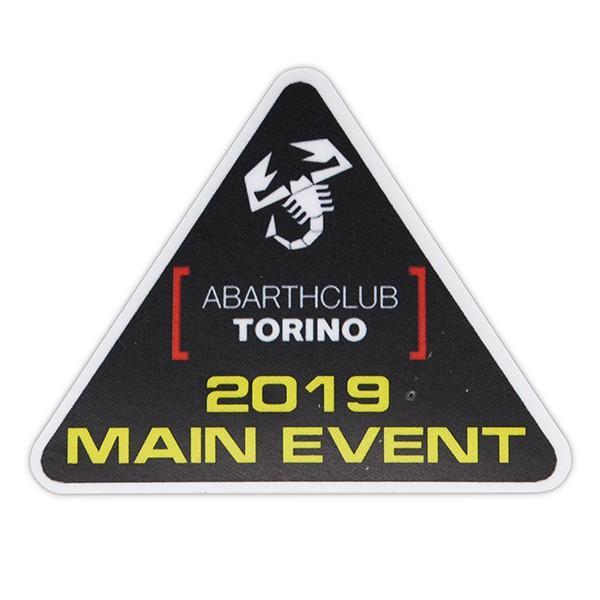 アバルト ABARTH CLUB TORINO 2019メインイベントステッカー|itazatsu