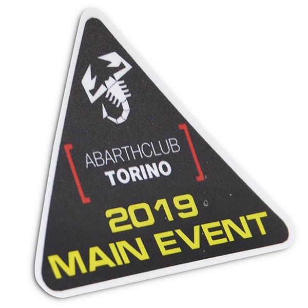 アバルト ABARTH CLUB TORINO 2019メインイベントステッカー|itazatsu|02