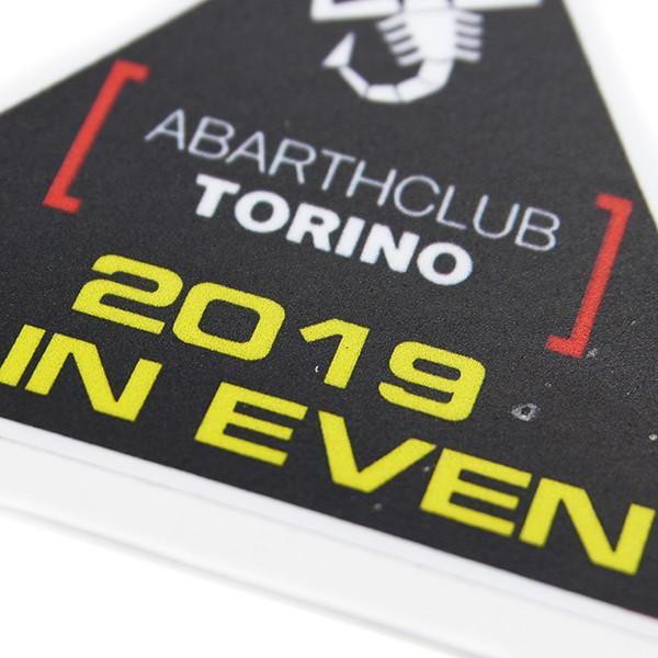 アバルト ABARTH CLUB TORINO 2019メインイベントステッカー|itazatsu|03