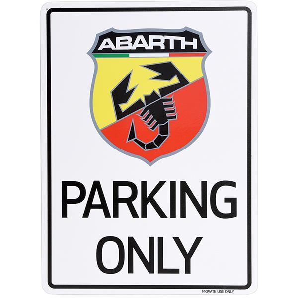 アバルト Parking Onlyボード itazatsu