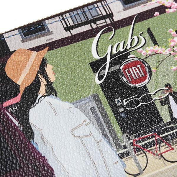 フィアット純正 500 ロングウォレット-SOHO-by gabs itazatsu 04