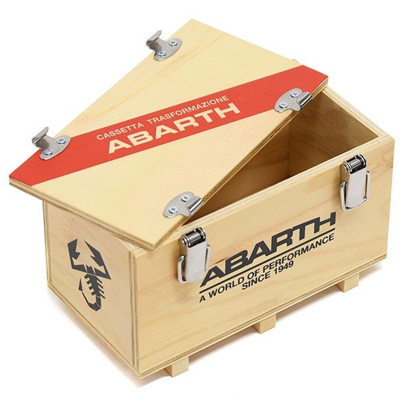 アバルト純正 ウッドコンテナボックス(150mm)|itazatsu