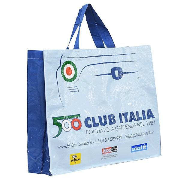 フィアット FIAT 500 CLUB ITALIA ショッパー(ブルー)|itazatsu