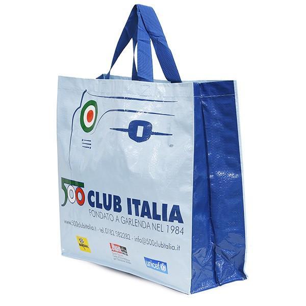 フィアット FIAT 500 CLUB ITALIA ショッパー(ブルー)|itazatsu|02