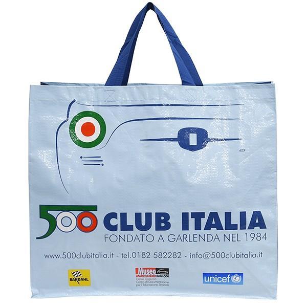 フィアット FIAT 500 CLUB ITALIA ショッパー(ブルー)|itazatsu|03