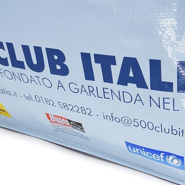 フィアット FIAT 500 CLUB ITALIA ショッパー(ブルー)|itazatsu|05