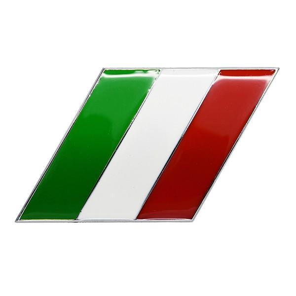 イタリア国旗エンブレム(スラッシュ)|itazatsu