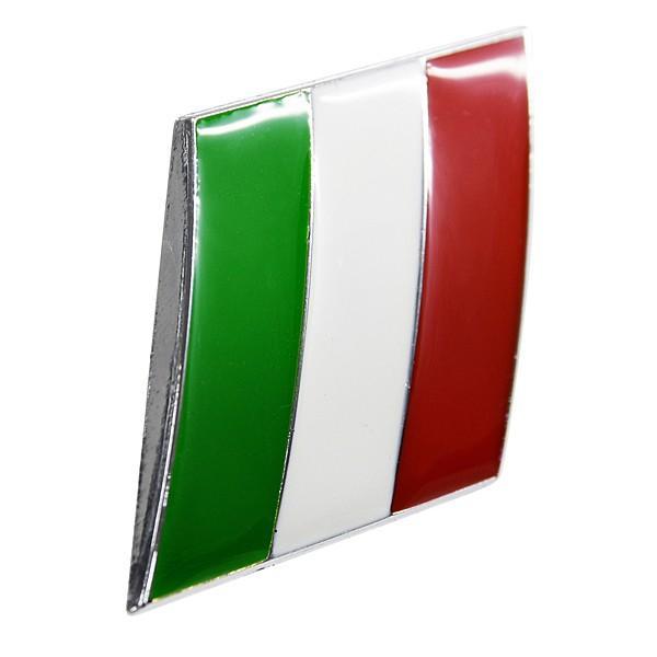イタリア国旗エンブレム(スラッシュ)|itazatsu|02
