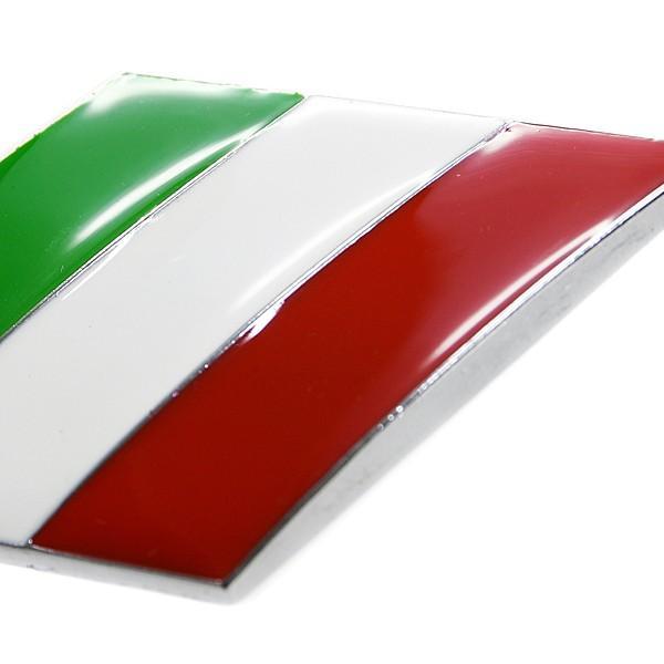 イタリア国旗エンブレム(スラッシュ)|itazatsu|03