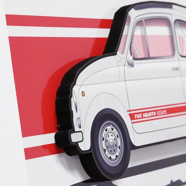 フィアット FIAT Nuova 500イラストレーションby Mr.Vin -ABARTH- (Large) itazatsu 03