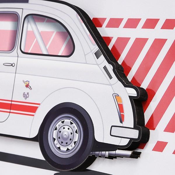 フィアット FIAT Nuova 500イラストレーションby Mr.Vin -ABARTH- (Large) itazatsu 04