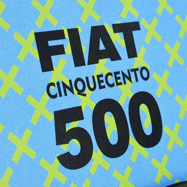 フィアット FIAT Nuova 500切手型イラストレーションby Mr.Vin -TRIS- (Large) itazatsu 07