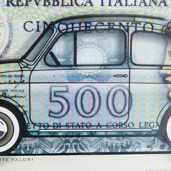 フィアット FIAT Nuova 500イラストレーションby Mr.Vin -500 LIRE- (Small)|itazatsu|05