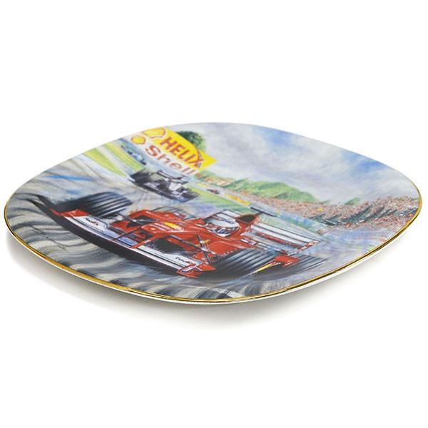 スクーデリア フェラーリ純正 2000 M.シューマッハピクチャーセラミックプレート by Greg McNeill|itazatsu|03