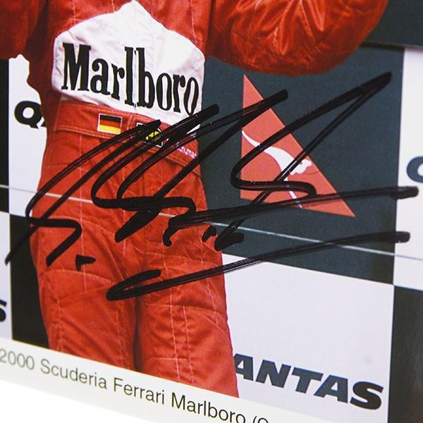 スクーデリア フェラーリ 2000 M.シューマッハ&R.バリチェロMarlboroオフィシャルフォト-M.シューマッハ直筆サイン入り-|itazatsu|05