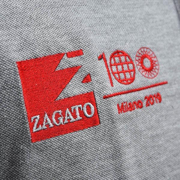 Zagato Car Clubポロシャツ(グレー)|itazatsu|05