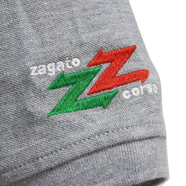 Zagato Car Clubポロシャツ(グレー)|itazatsu|07