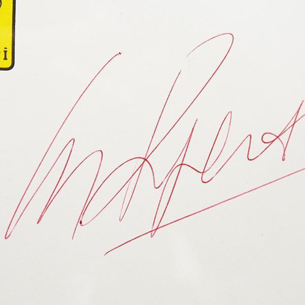 スクーデリア フェラーリ C.レガツォーニ直筆サイン入り額装カードセット itazatsu 08