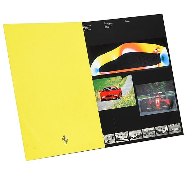 フェラーリ オフィシャル企業パンフレット1992年度版|itazatsu