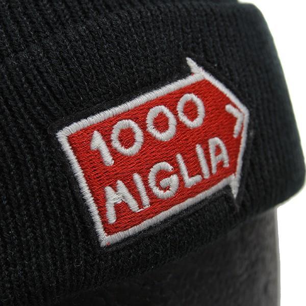1000 MIGLIAオフィシャルニットキャップ(ブラック)|itazatsu|04