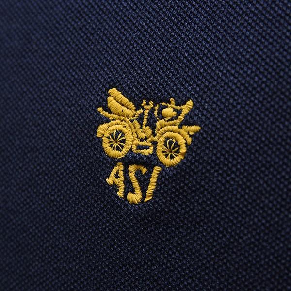 ASIオフィシャルポロシャツ(ネイビー)|itazatsu|04
