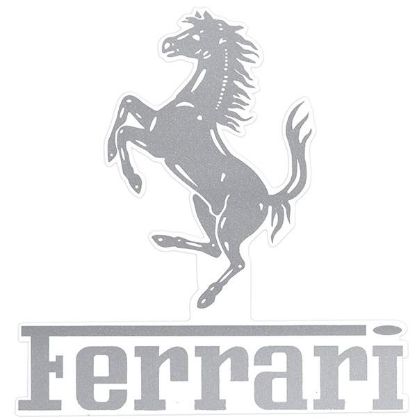 フェラーリロゴ&Cavallinoステッカー(切文字タイプ)|itazatsu|03