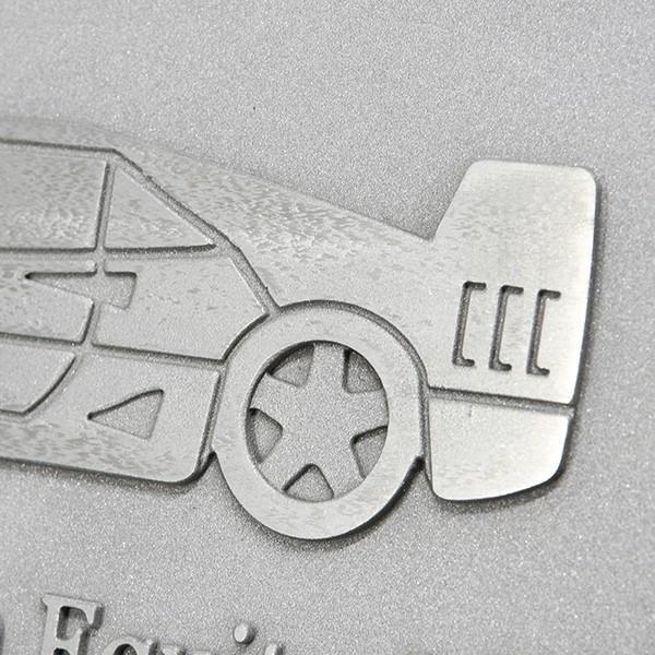 フェラーリ Ferrari AUTOMOBILI CLUB Southern Equitorialアルミプレート itazatsu 06