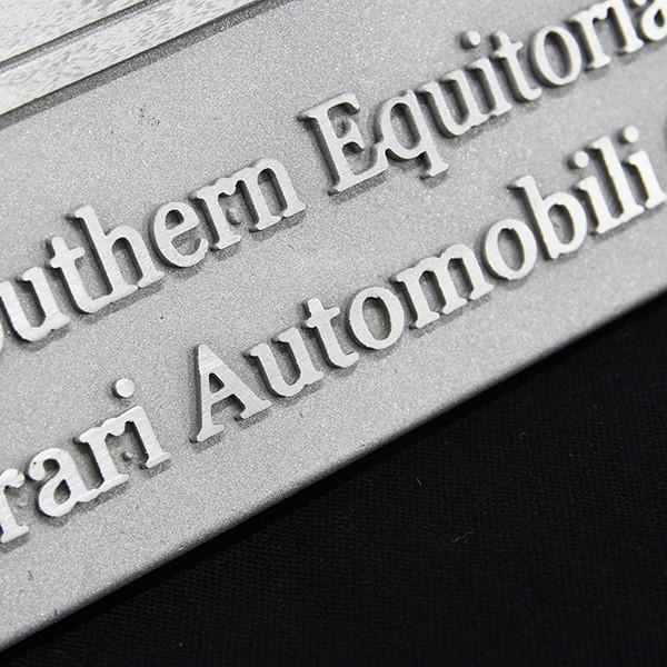 フェラーリ Ferrari AUTOMOBILI CLUB Southern Equitorialアルミプレート itazatsu 07