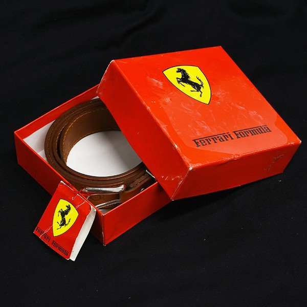 フェラーリ Ferrari Formula純正レザーベルト by schedoni|itazatsu|12