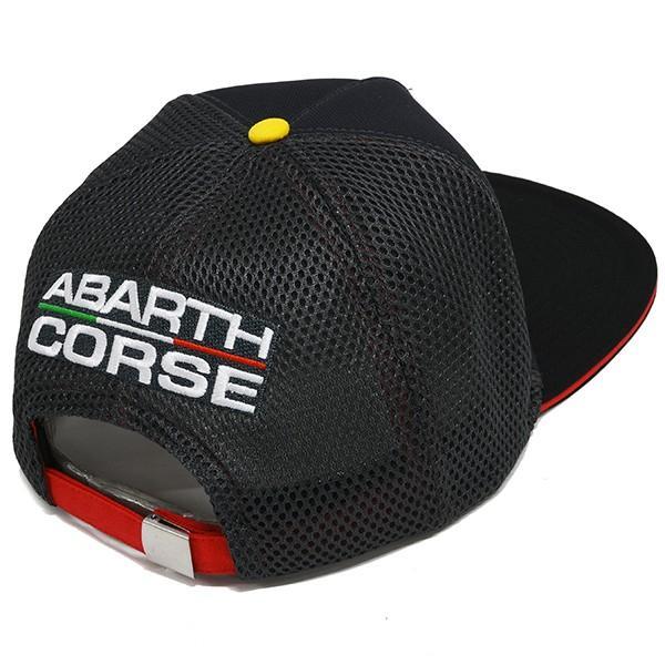アバルト純正 ABARTH CORSEフラットバイザーキャップ|itazatsu|02