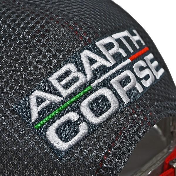 アバルト純正 ABARTH CORSEフラットバイザーキャップ|itazatsu|06